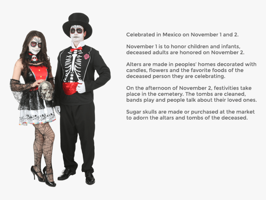 Facts About The Day Of The Dead Mexico, HD Png Download, Free Download