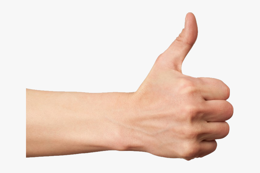 Like Png - Hand Gestures Thumbs Up, Transparent Png, Free Download