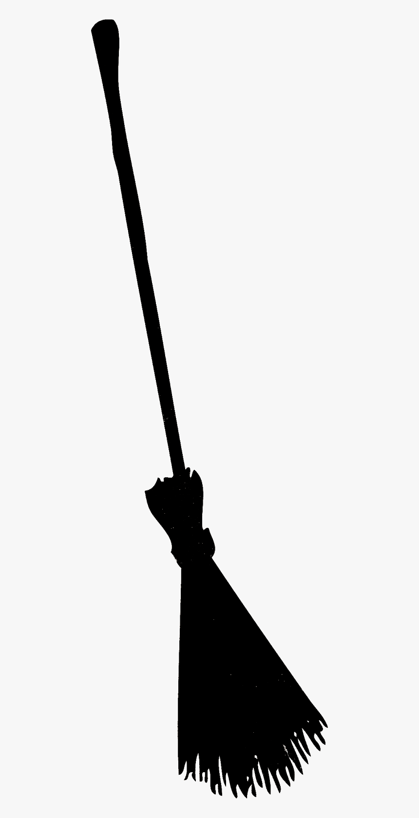 Halloween Broom Witch Broom Silhouette Png Transparent Png Kindpng