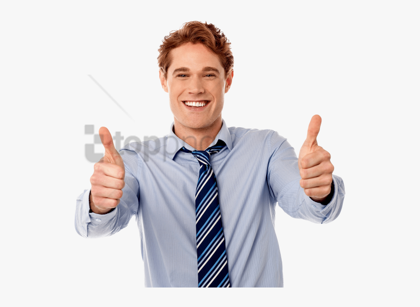 Like Thumbs Up Png - Person With Thumbs Up Png, Transparent Png, Free Download