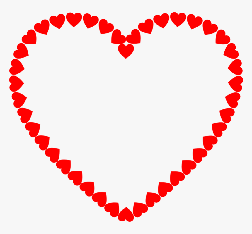 Heart Outline Clipart - Heart Vintage Png, Transparent Png, Free Download