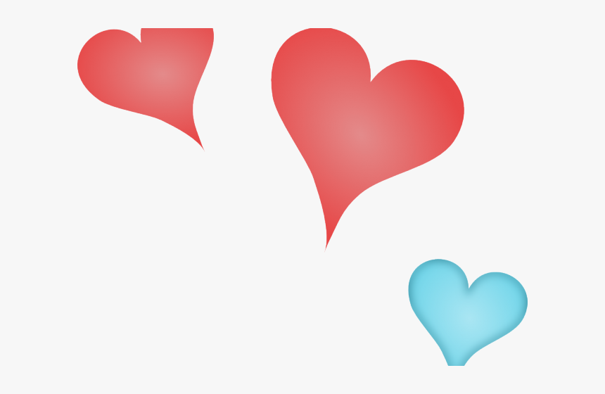 Little Hearts Cliparts - Png Of Small Hearts, Transparent Png, Free Download