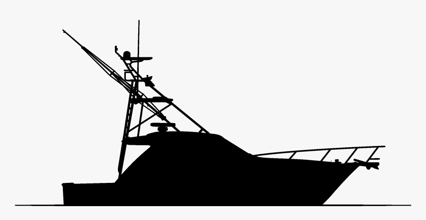 Boat Silhouette Fishing Boat Silhouettes Png Transparent Png Kindpng