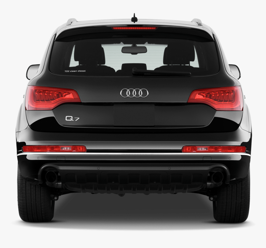 Rear View Of Car Png Free Download Rr Collections Audi - Audi Q7 2015 Back, Transparent Png, Free Download