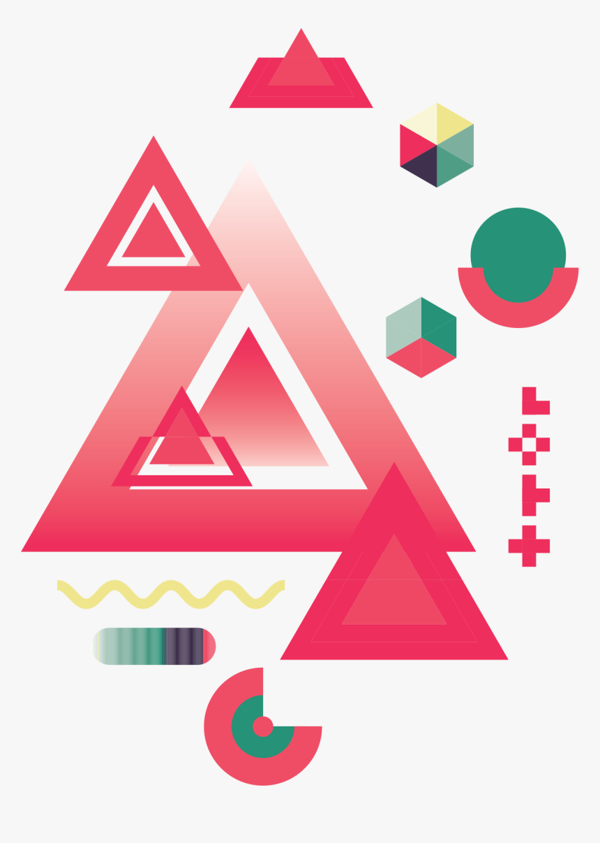 Abstract Geometric Shapes - Geometric Shape Png, Transparent Png, Free Download