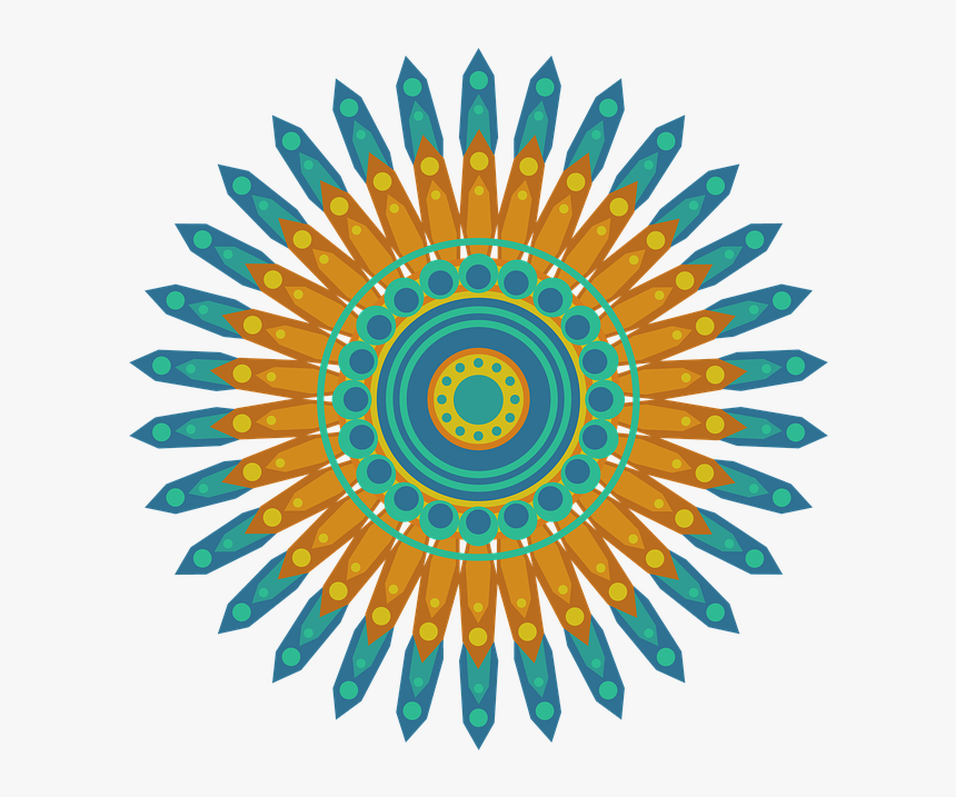 Mandala, Pattern, Circle, Geometric, Shapes, Abstract - Dream It Believe It Achieve, HD Png Download, Free Download