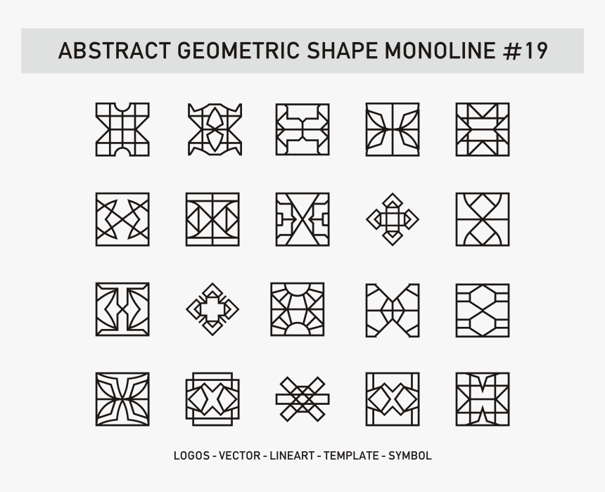 Vector Geometric Shapes Png, Transparent Png, Free Download