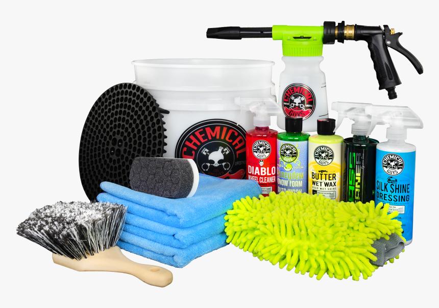 Arsenal Builder Car Wash Kit With Torq Foam Blaster - Chemical Guys Car Wash Kit, HD Png Download, Free Download