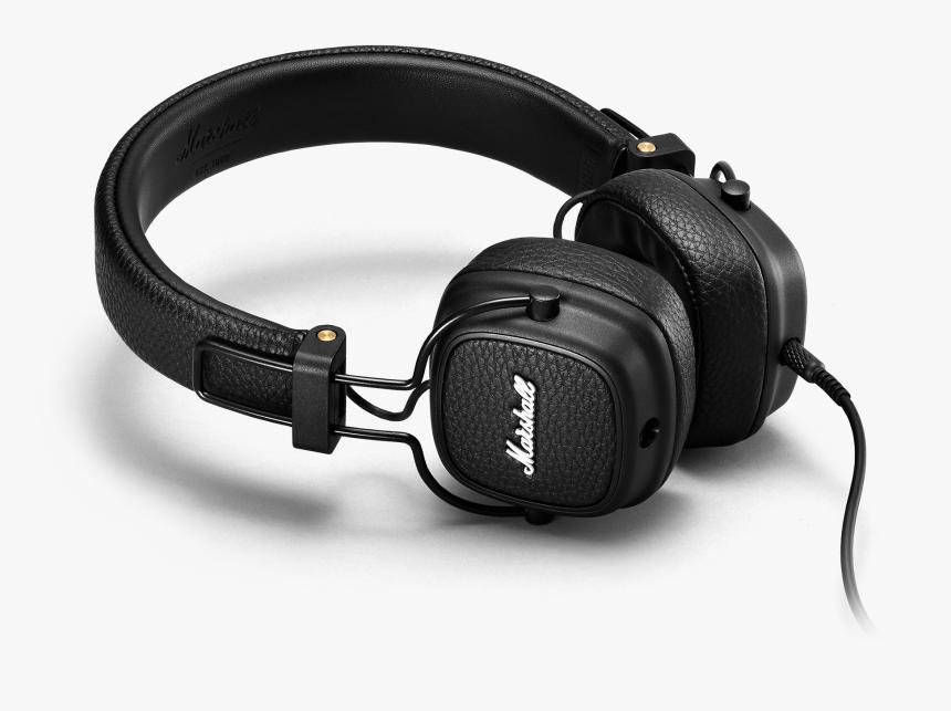"""Major Iii Black Black""""  Data Srcset=""""https - Marshall Major Iii Headphones, HD Png Download, Free Download"""