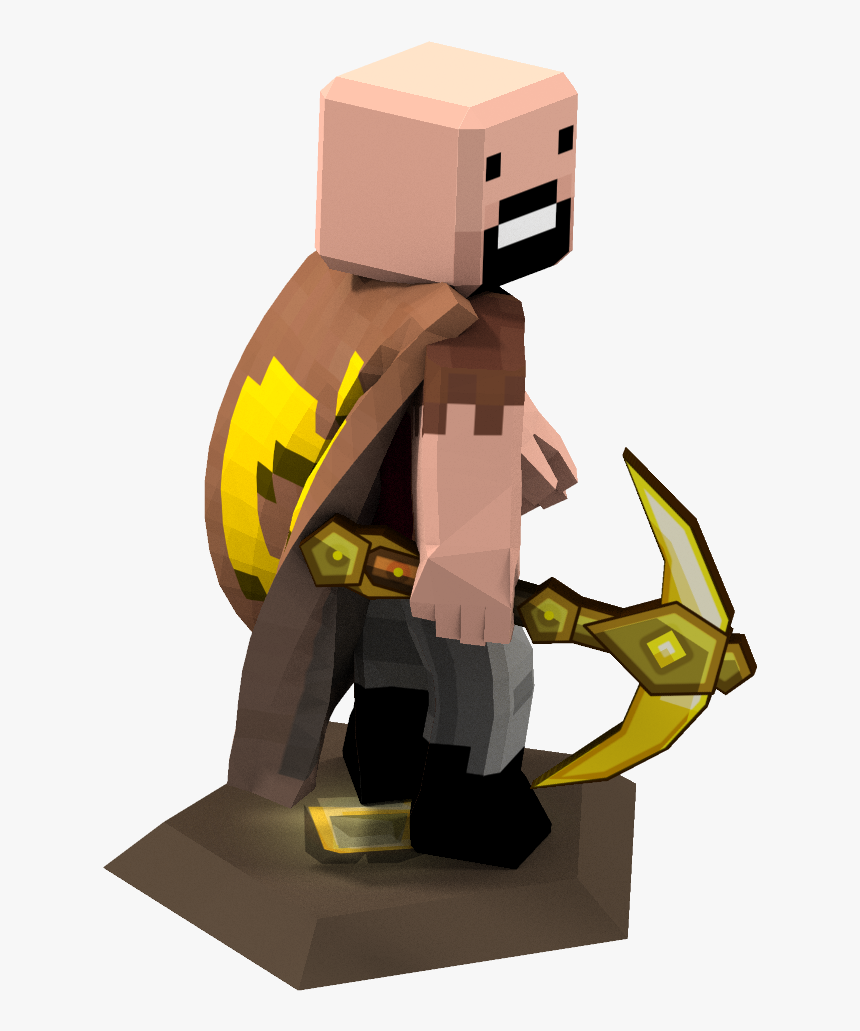 Notch Minecraft Skin With Cape , Png Download - Download Skin