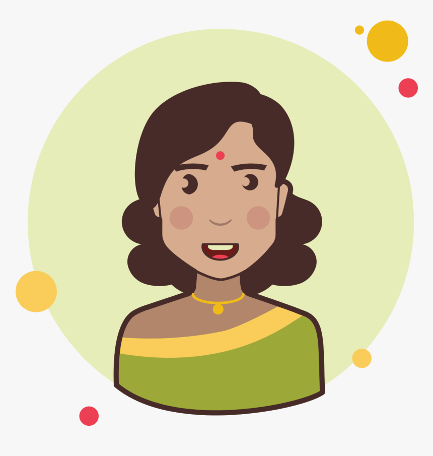 Indian Lady Icon - System Admin Icon Png, Transparent Png, Free Download