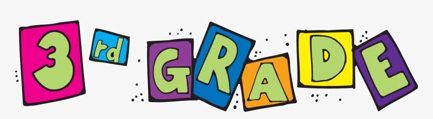 3rd Grade Clip Art, HD Png Download - kindpng