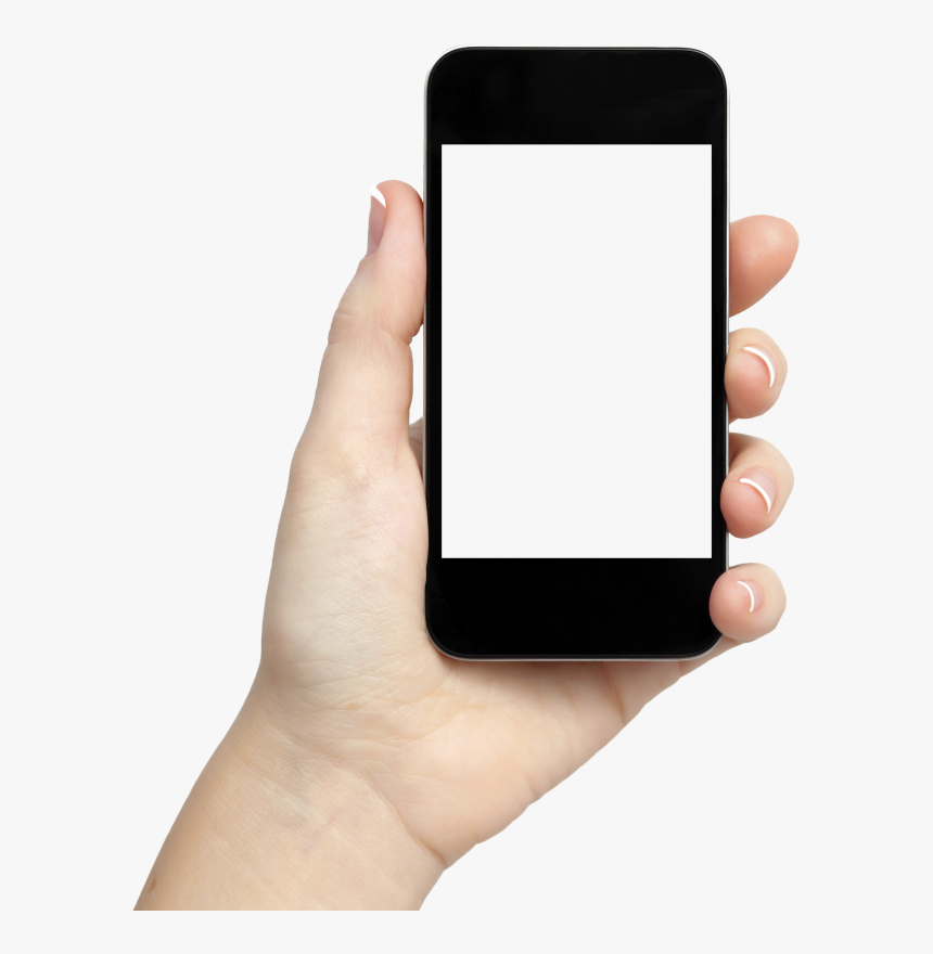 News Mobile Png , Png Download - Hand Holding A Phone, Transparent Png, Free Download