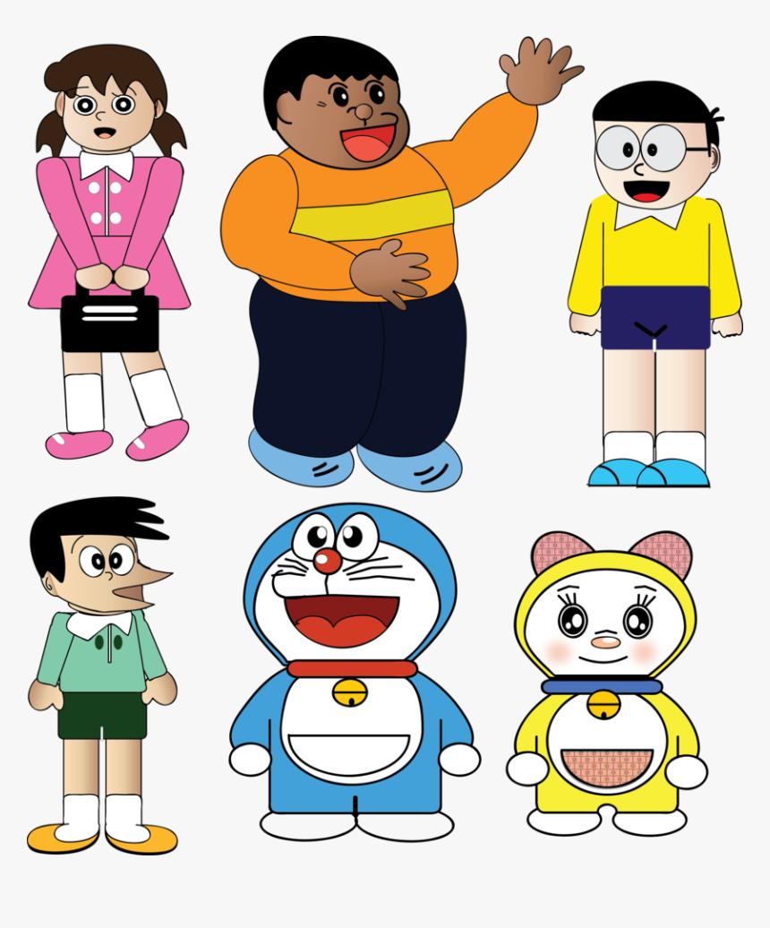 Doraemon Transparent Friend Png - Doraemon Clipart, Png Download, Free Download