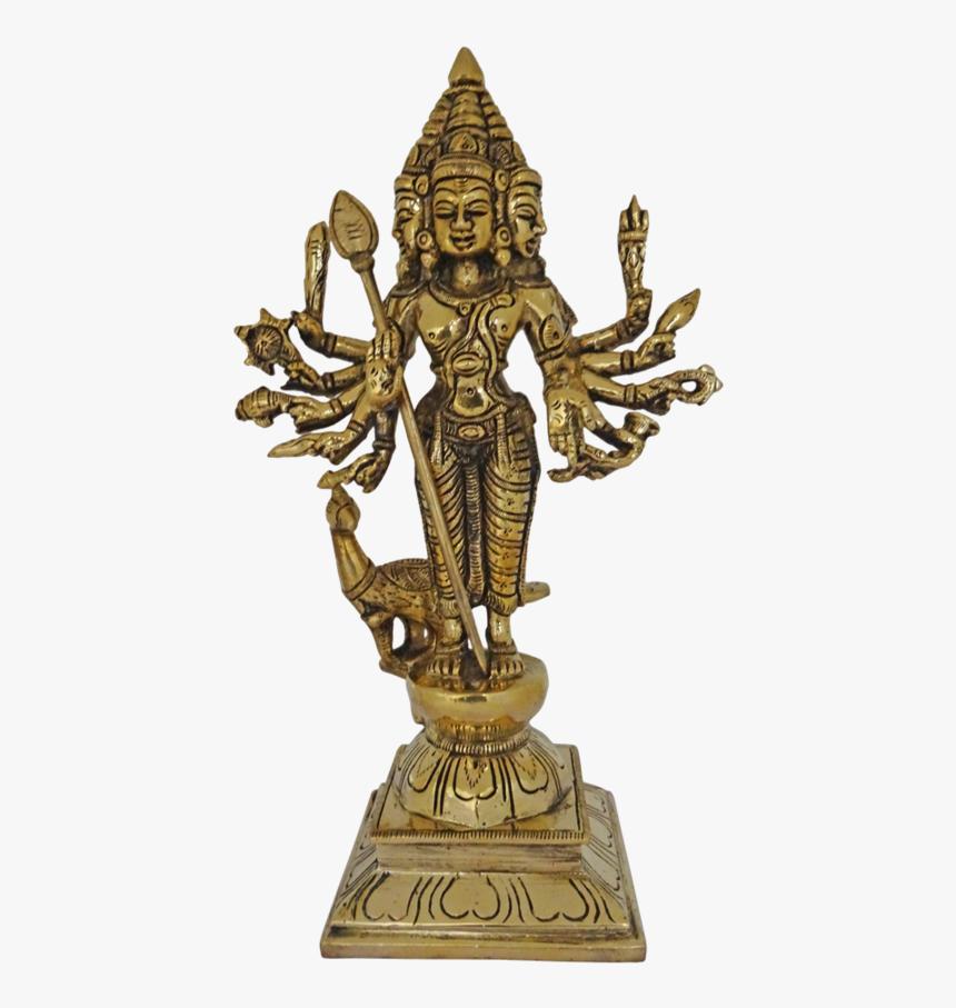 Brass Religious Tamil Hindu God Arumuga Velan Statue, - Statue, HD Png Download, Free Download