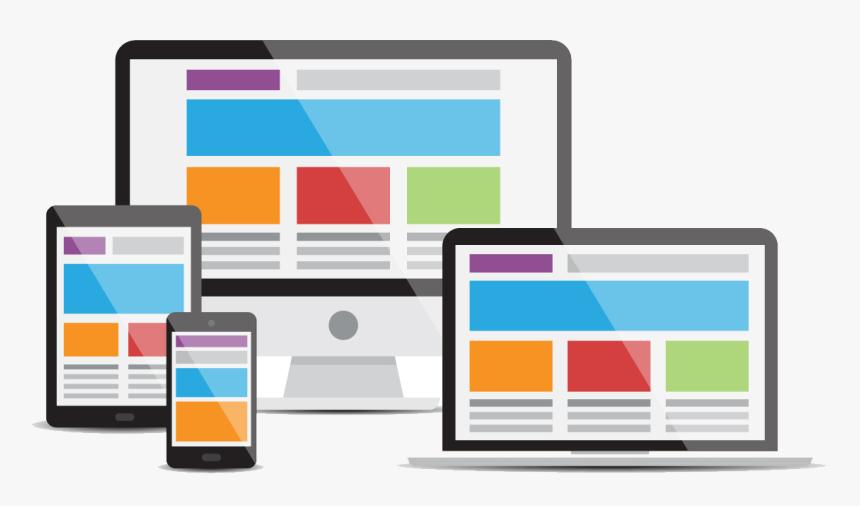 Banner - Responsive Website Design Png, Transparent Png, Free Download