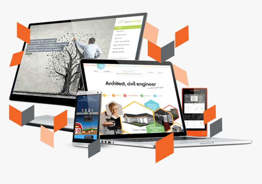 Magento Responsive Theme Design - Magento Theme Development Hd, HD Png Download, Free Download