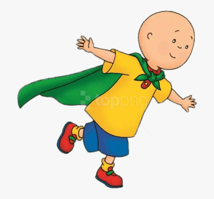 Download Superman Clipart Photo Transparent Background - Caillou One Punch Man, HD Png Download, Free Download