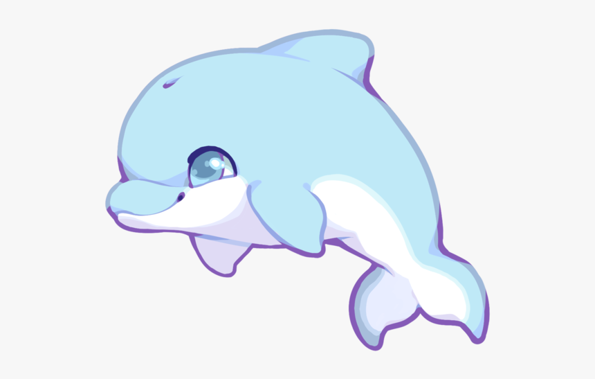 Collection Of Dolphin - Cute Drawings Of Dolphins, HD Png Download, Free Download