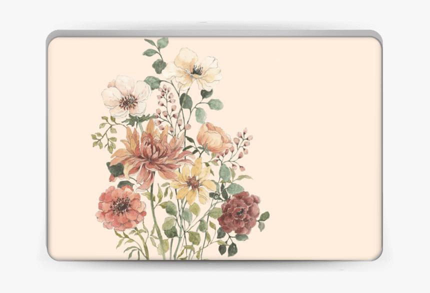 Wild Flowers Skin Laptop - Png File Wildflower, Transparent Png, Free Download