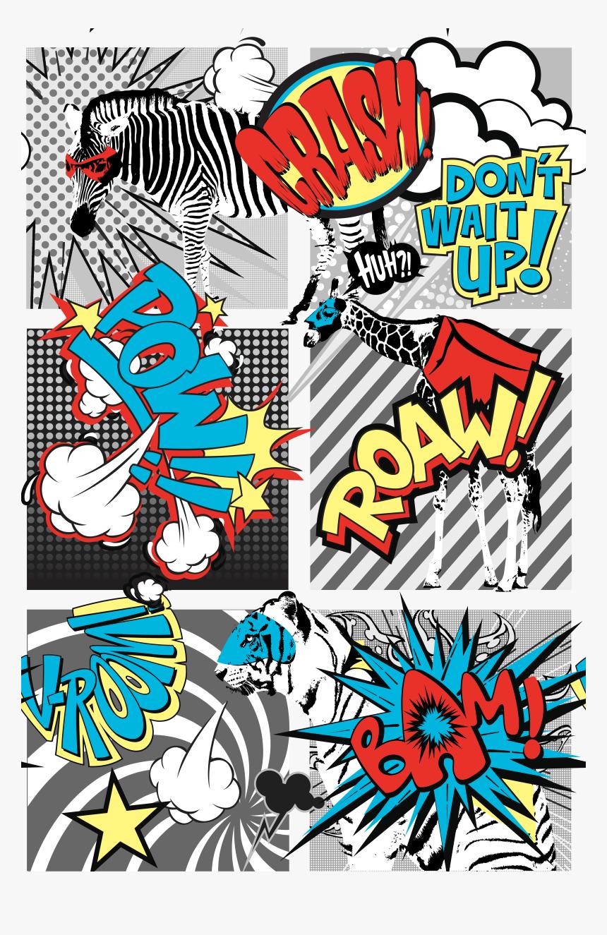 Pop Art Comic Strip, HD Png Download, Free Download