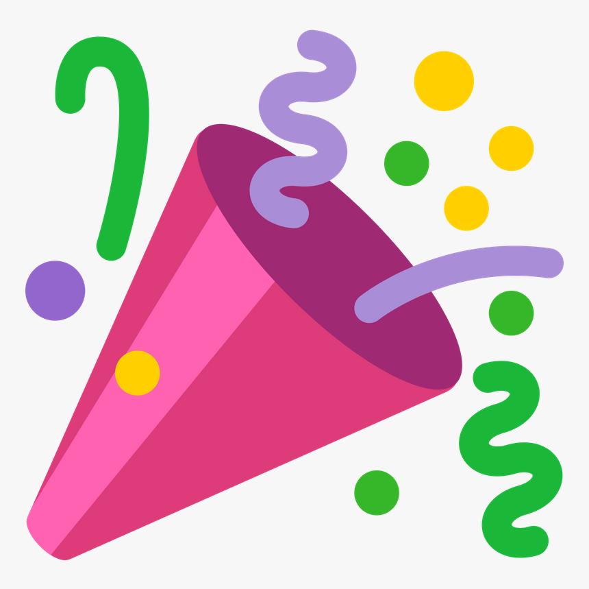 Emoji Serpentina , Png Download - Party Emoji Png, Transparent Png, Free Download