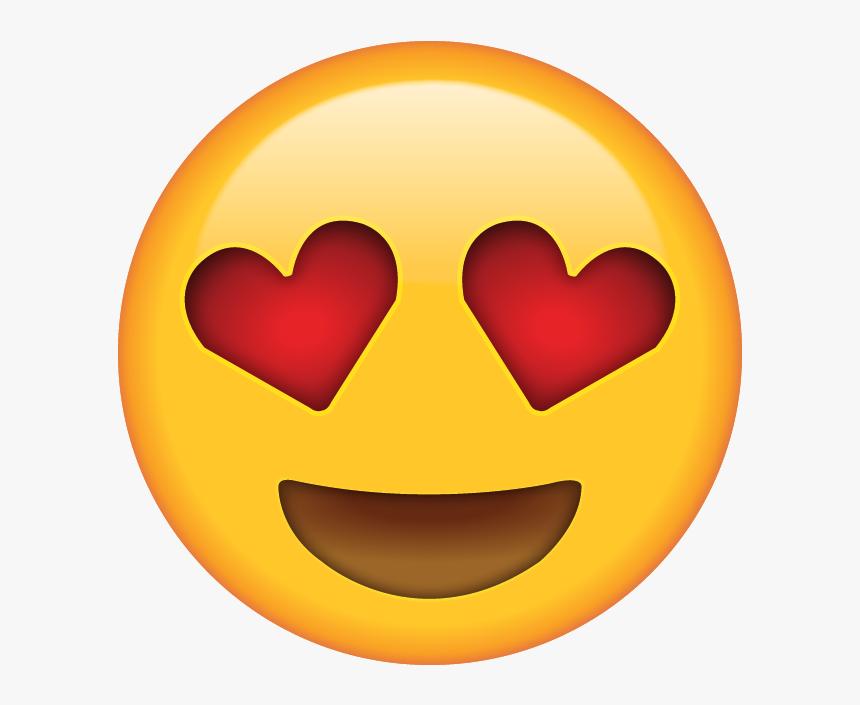Heart Eye Emoji, HD Png Download, Free Download