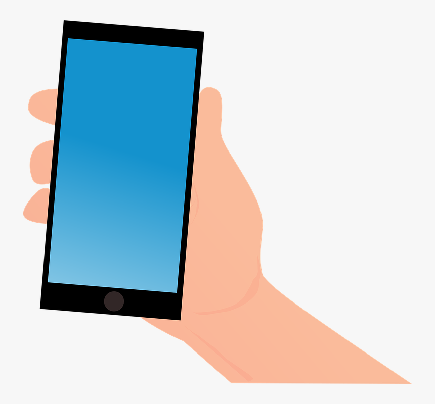 Android Clipart Hand Png - Smartphone Android Vector, Transparent Png, Free Download