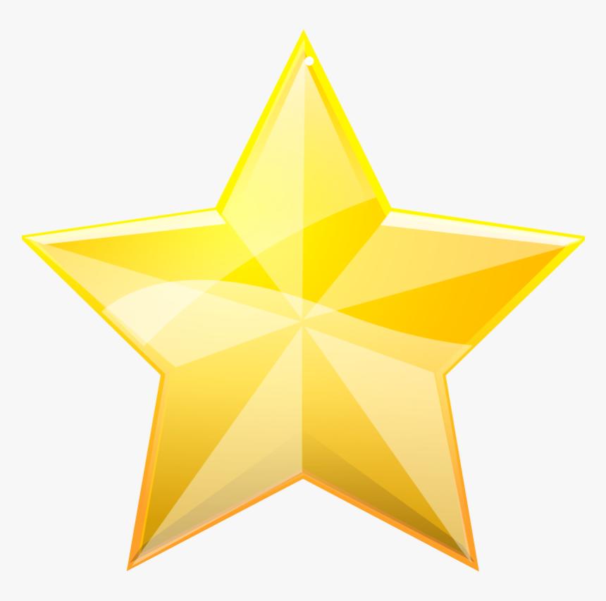 5 Star Rating Png - Gold Star Black Background, Transparent Png, Free Download