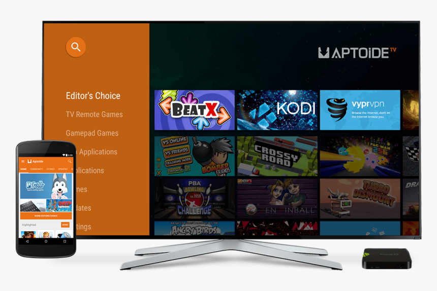 Aptoide Android Tv, HD Png Download, Free Download