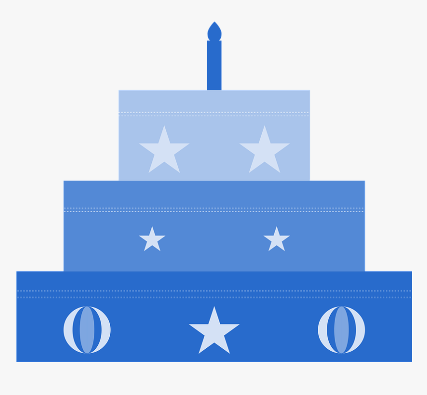 Cake, Birthday, Boy, Blue, Party, Congratulations - Birthday, HD Png Download, Free Download