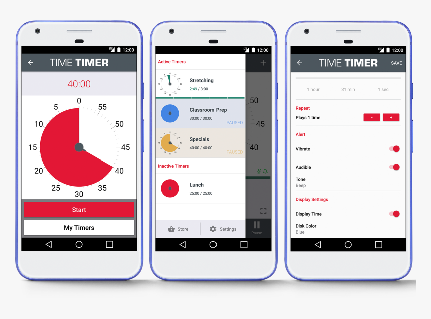 Time Timer® Android App - Android Time Timer App, HD Png Download, Free Download