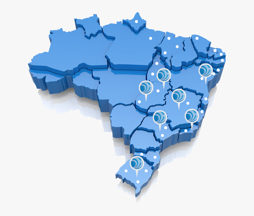 Mapa Do Brasil Moderno, HD Png Download, Free Download