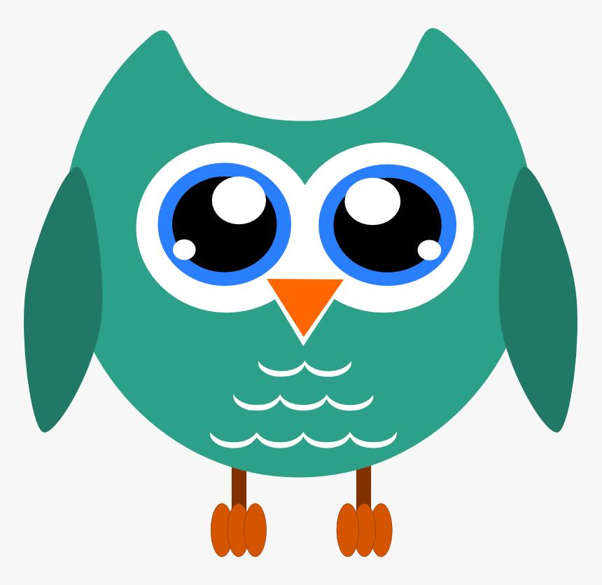 Transparent Owls Clipart - Transparent Background Owl Clipart, HD Png Download, Free Download