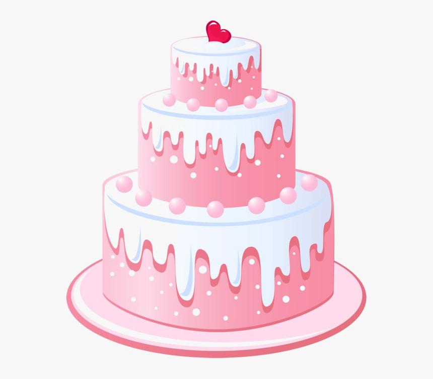 Gateaux,tubes Papel De Arroz, Etiquetas Vintage, Pastel - Three Tier Cake Clip Art, HD Png Download, Free Download