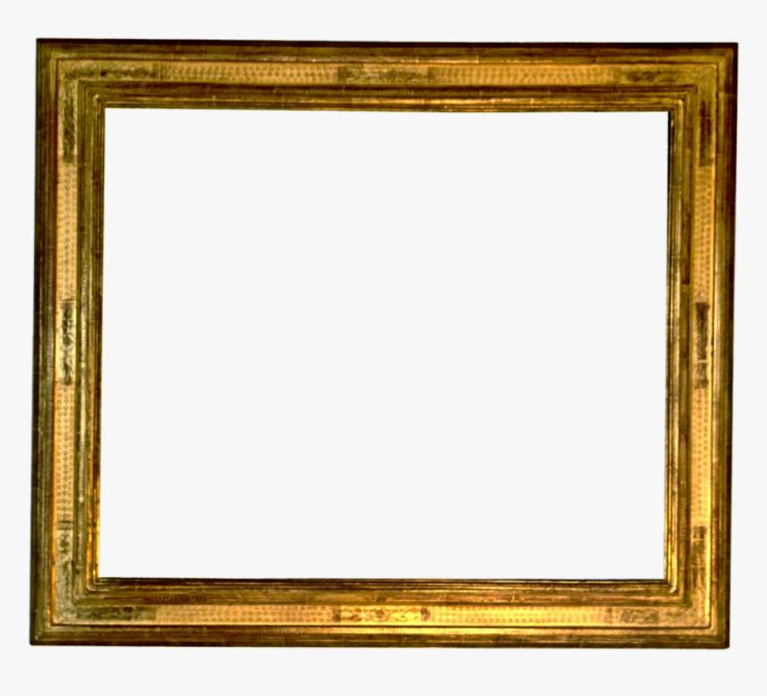 Golden Frame Png Image Transparent - Golden Vintage Frame Png, Png Download, Free Download
