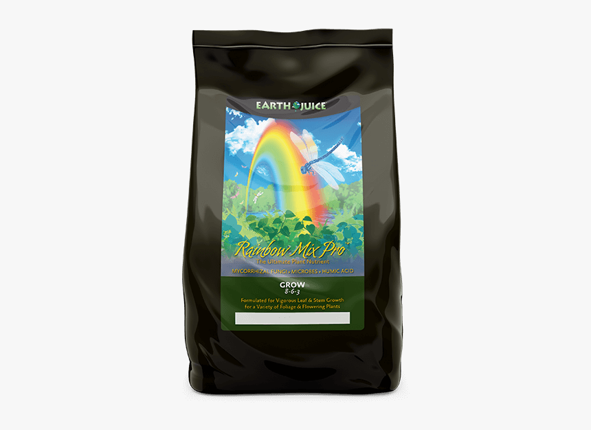 Earth Juice Rainbow Mix Pro Grow Product Image - Jasmine Rice, HD Png Download, Free Download