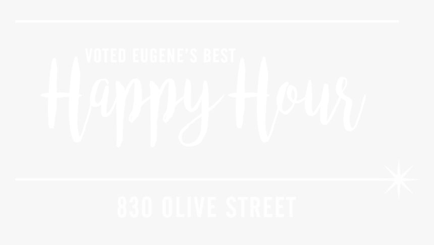 """Starlight Lounge Voted Eugene""""s Best Happy Hours - Calligraphy, HD Png Download, Free Download"""