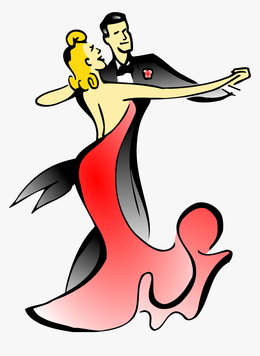 Ballroom Dancers Vector Clipart Image Ballroom Dancer Clipart Hd Png Download Kindpng