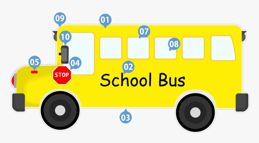 Vector Transportation Bus Indian School Hd Png Download Kindpng