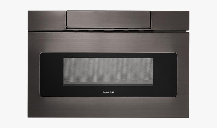 Black Stainless Steel Microwave Drawer