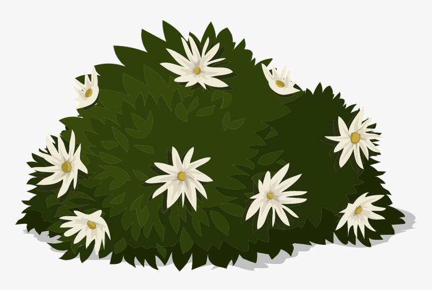 Gambar Ilustrasi Tanaman Bunga Transparent Greenery Png Gambar Vektor Tanaman Bunga Png Png