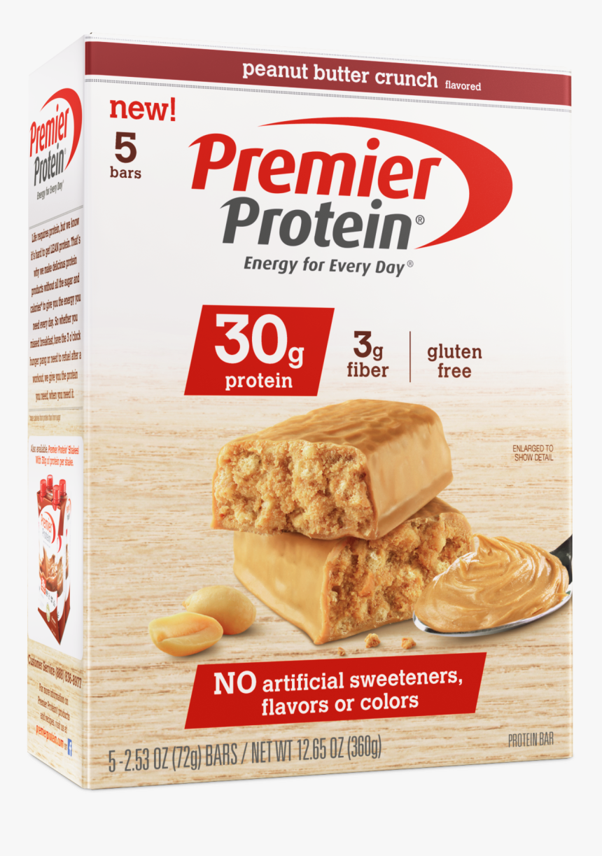 Peanut Butter Crunch Protein Bars, HD Png Download, Free Download