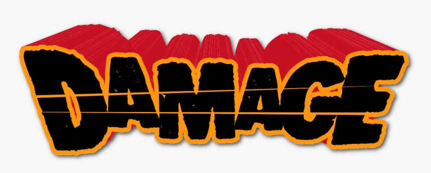 Logo Comics - Damage Dc Comics Png, Transparent Png, Free Download