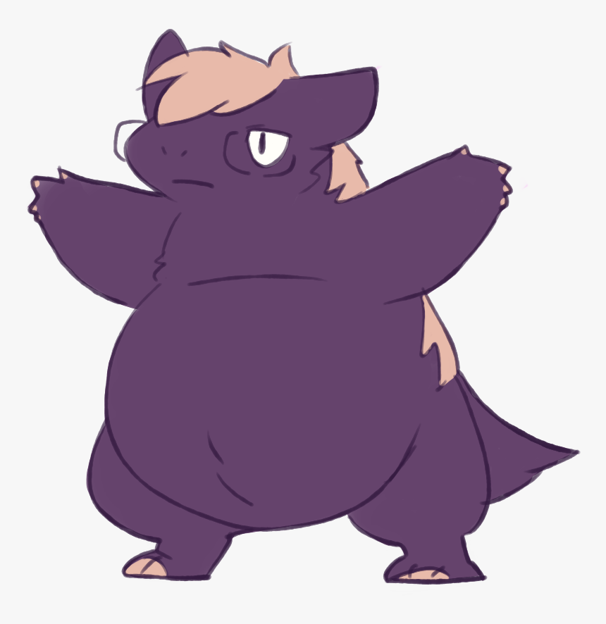 Definitely Not A Typhlosion , Png Download - Cartoon, Transparent Png, Free Download