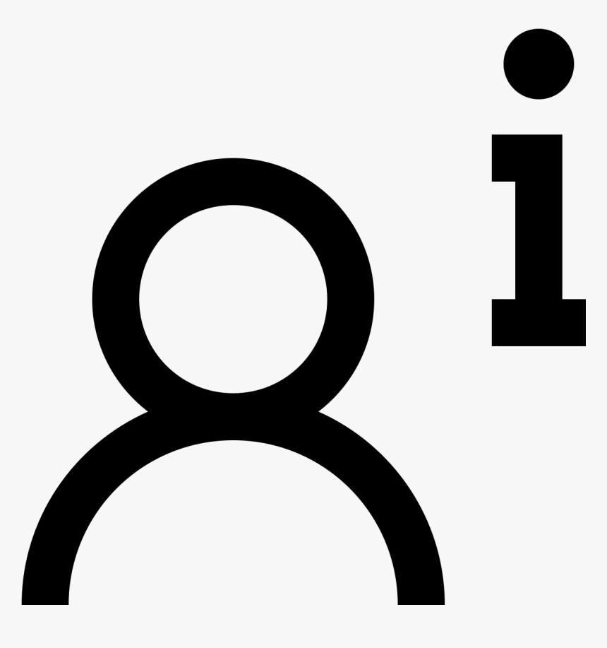 Über Uns Männlich Icon - Icon, HD Png Download, Free Download