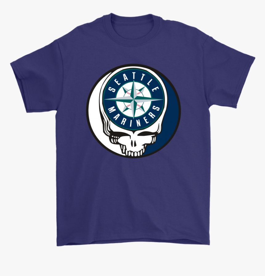 Seattle Mariners The Grateful Dead Baseball Mlb Mashup, HD Png Download, Free Download