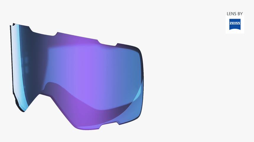 Parker Snow Goggle Lens Blue Chrome, HD Png Download, Free Download