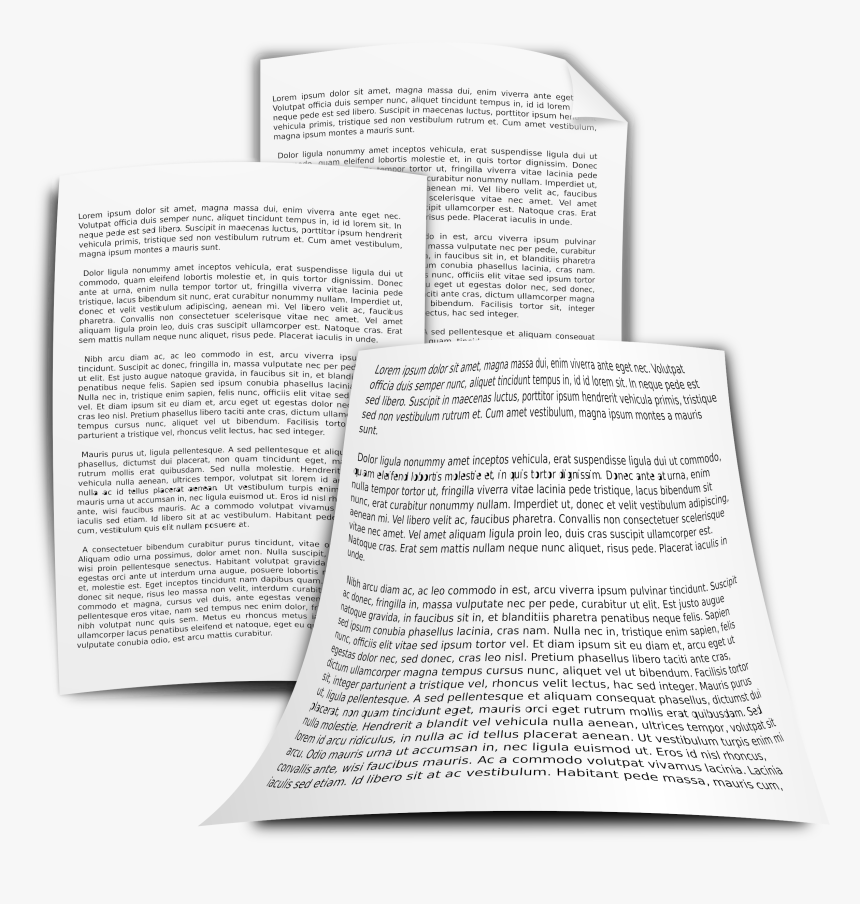 Documents Big Image Png - Clip Art Free Documents, Transparent Png, Free Download