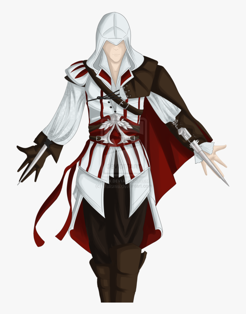 Ezio Assassins Creed Characters Hd Png Download Kindpng
